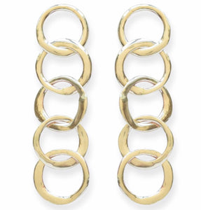 Circle Chain Earring