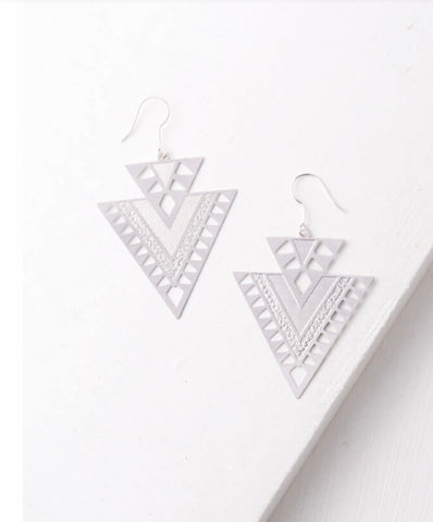 CiCi Silver Earrings
