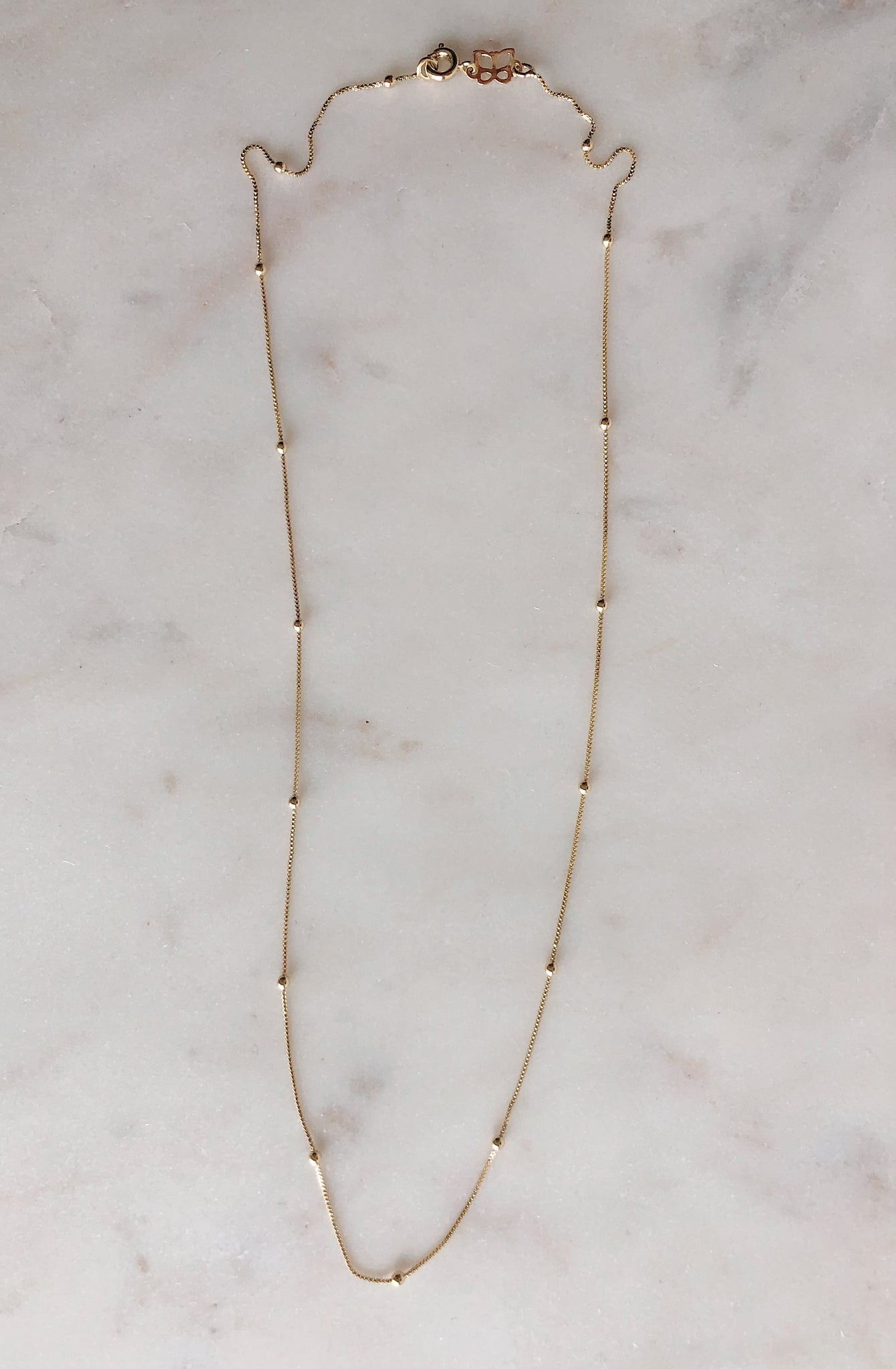 Beatrice Satellite Chain Neckalce