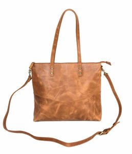 Mid sized Zipper Tote
