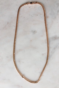 Hawk Cuban Chain Necklace