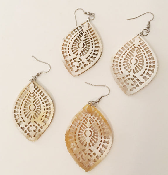 Horn Lace Earring