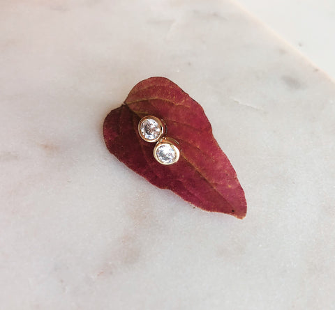 Lila Stud Earrings