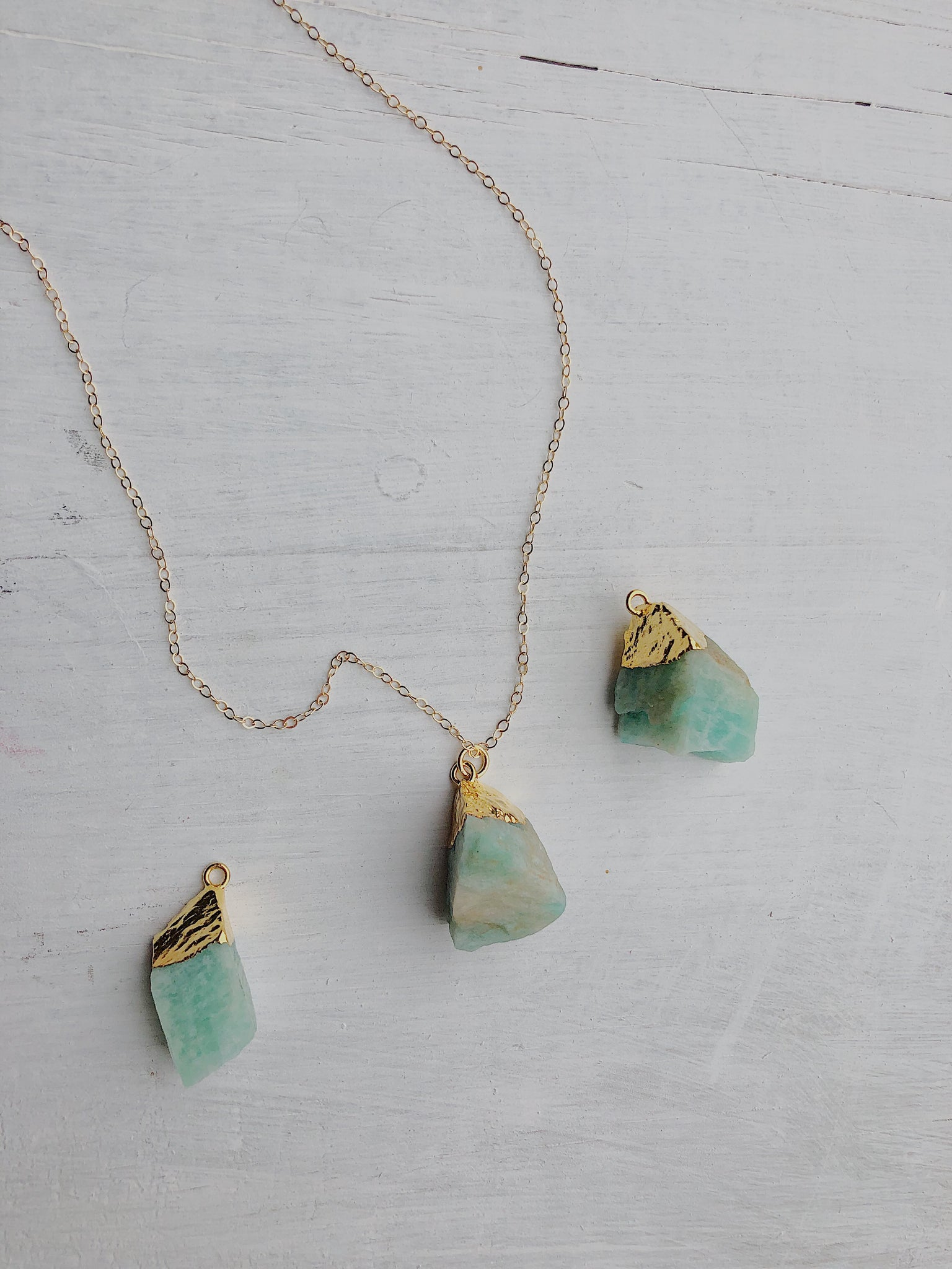 Sam Amazonite Necklace