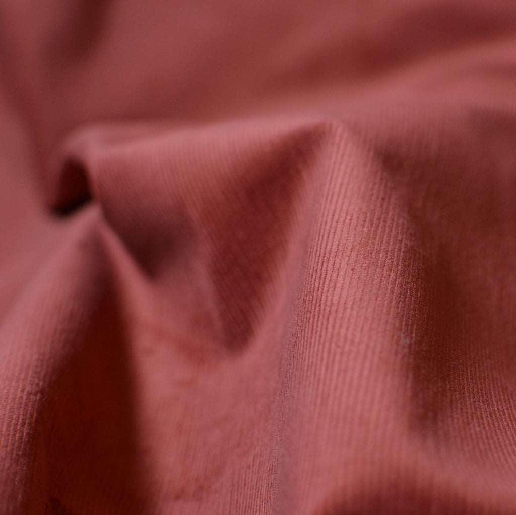 Blushed Rust – Ralph Lauren Stretch Corduroy – 1/2 yard