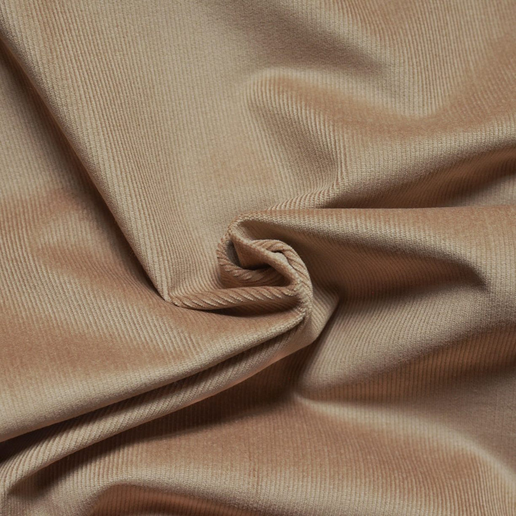Remnant - Toasted Oatmeal – Ralph Lauren Stretch Corduroy – 1.25 yards