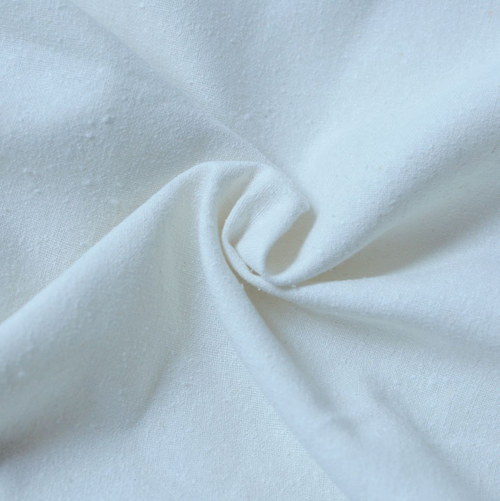 Cream – Silva Silk Noil – 1/2 yard