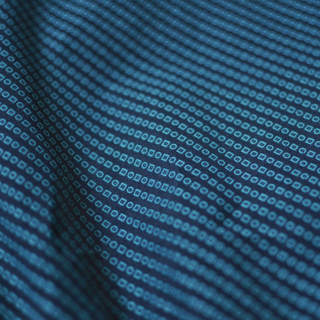 Geometric Jacquard Cotton Shirting – 1/2 yard