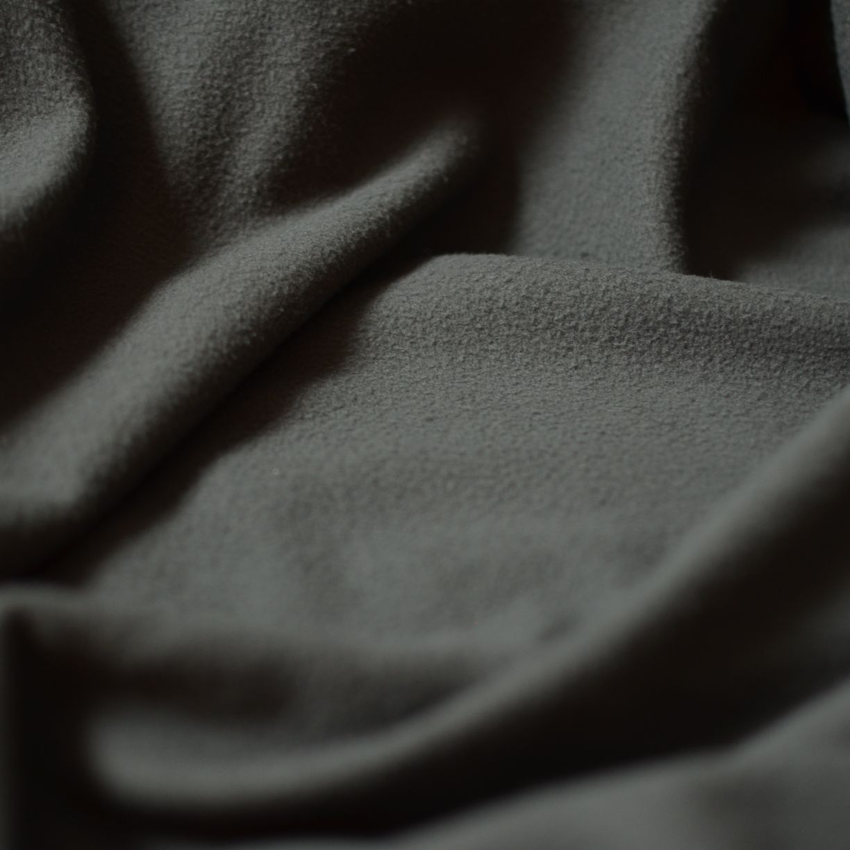 Remnant - Charcoal – Aruna Repreve® Recycled Fleece