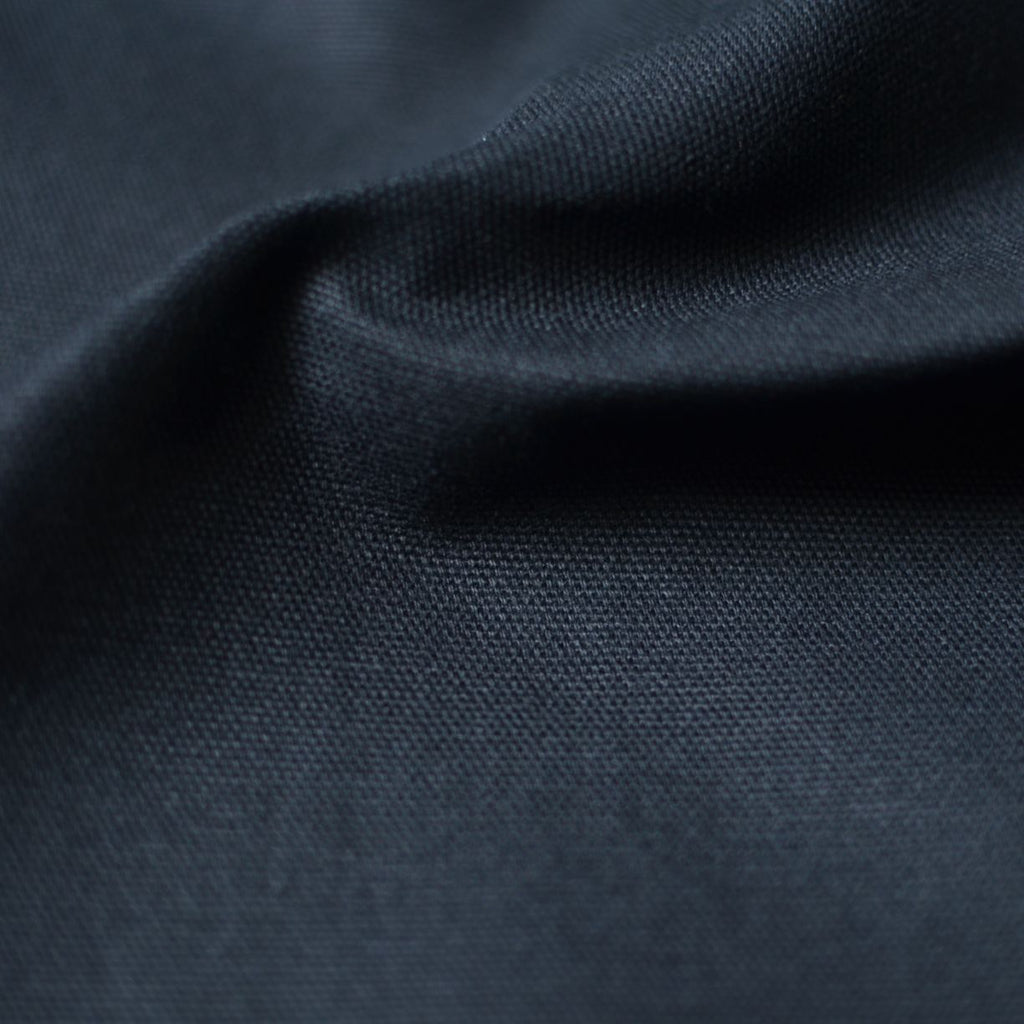 Remnant -  Black – Greta Organic Cotton 10 oz Duck Canvas – 0.6 yard