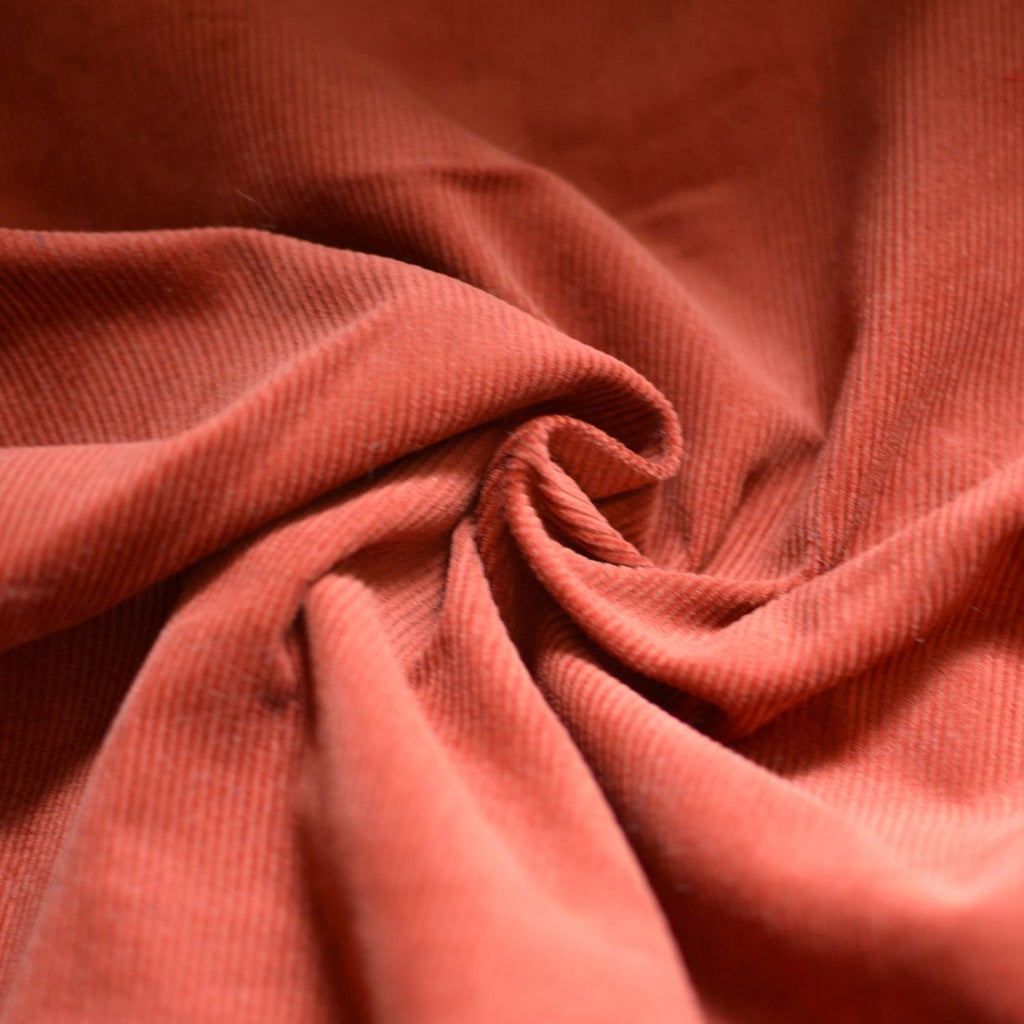 Rust – Robert Kaufman Cotton Corduroy – 1/2 yard