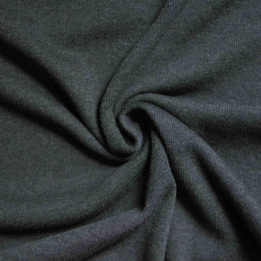 Charcoal – Sanjana Tencel™ & Organic Cotton Ribbing – 1/2 yard