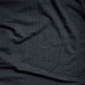 Black– Sanjana Tencel™ & Organic Cotton Stretch Fleece – 1/2 yard