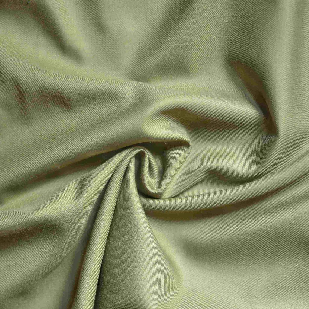 Moss Green Fine Worsted Wool Gabardine – 1/2 yard