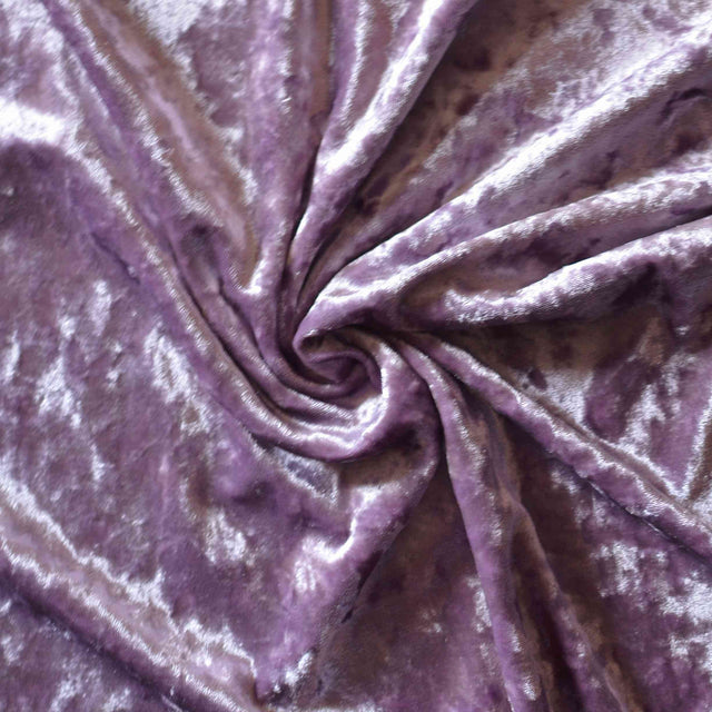 Dusty Lavender – Crushed Stretch Velvet – 1/2 yard