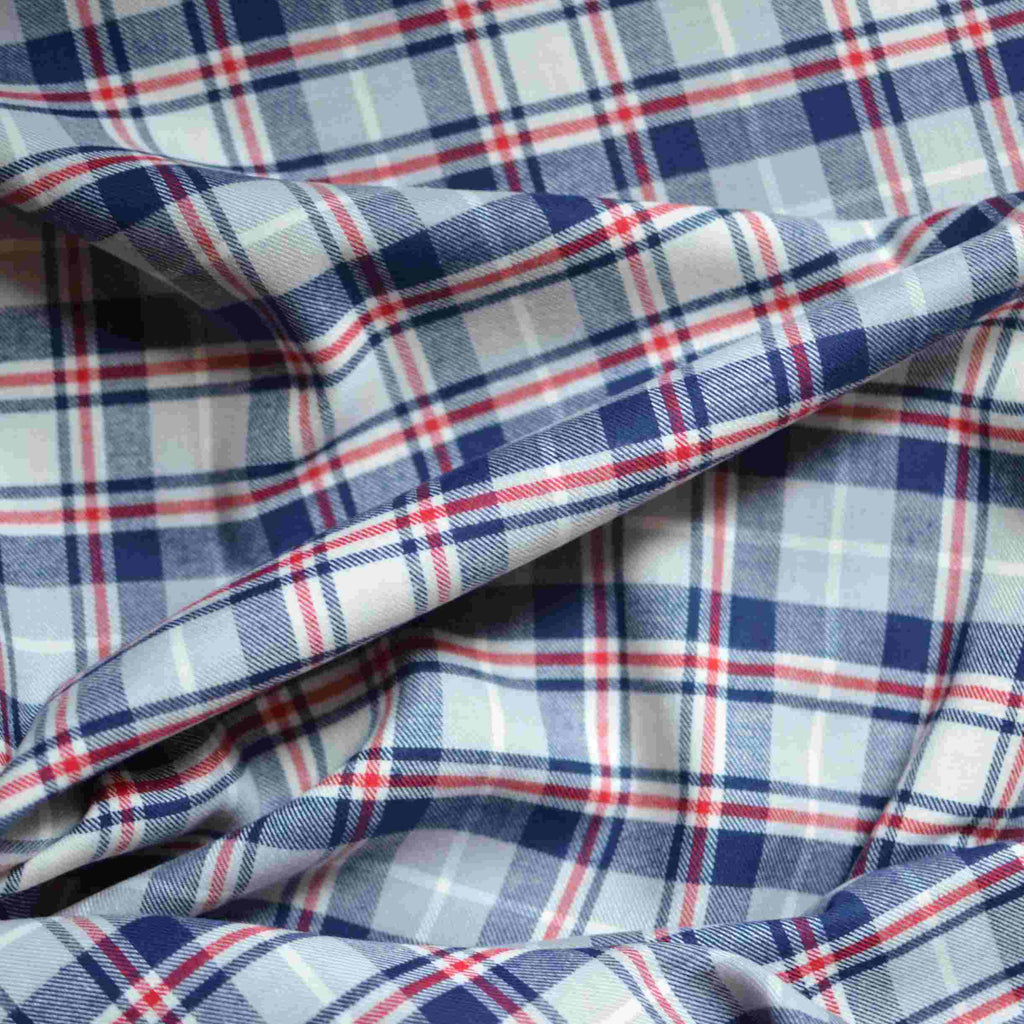 Grey Mix Plaid Flannel – 1/2 yard