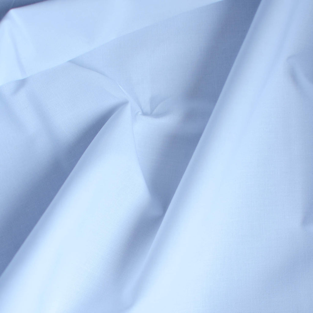 White - Peltier Organic Cotton Stretch Poplin – 1/2 yard