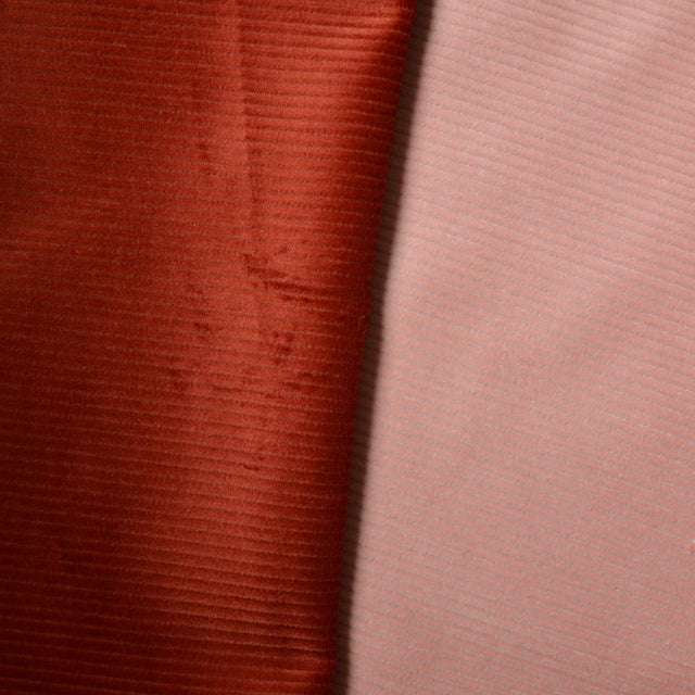 Peony Pink – Isra Organic Stretch Cotton Corduroy – 1/2 yard