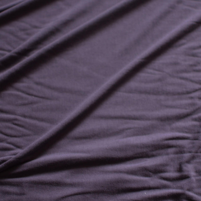 Salted Plum – Made in USA Rayon Jersey – 1/2 yard