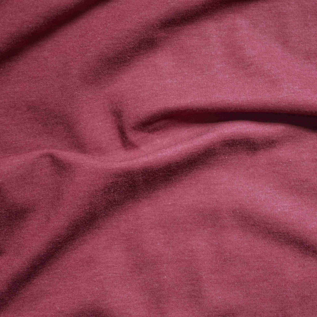 Wine – Sanjana Tencel™ & Organic Cotton Stretch Fleece – 1/2 yard