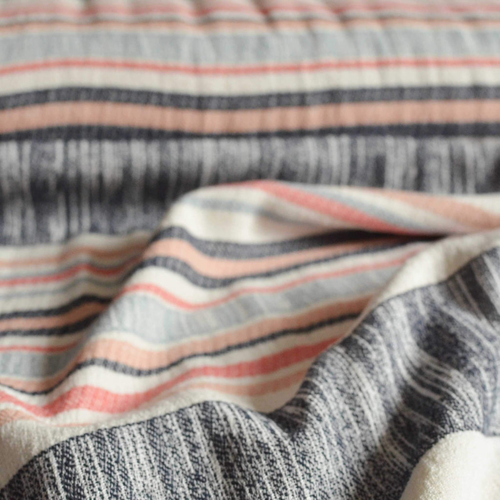 Striped Woven Cotton – 1/2 yard