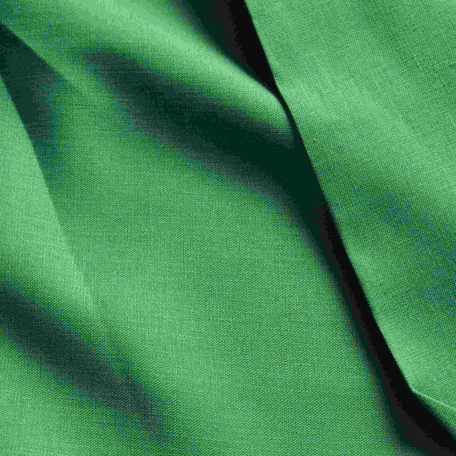 Bright Green Linen – 1/2 yard