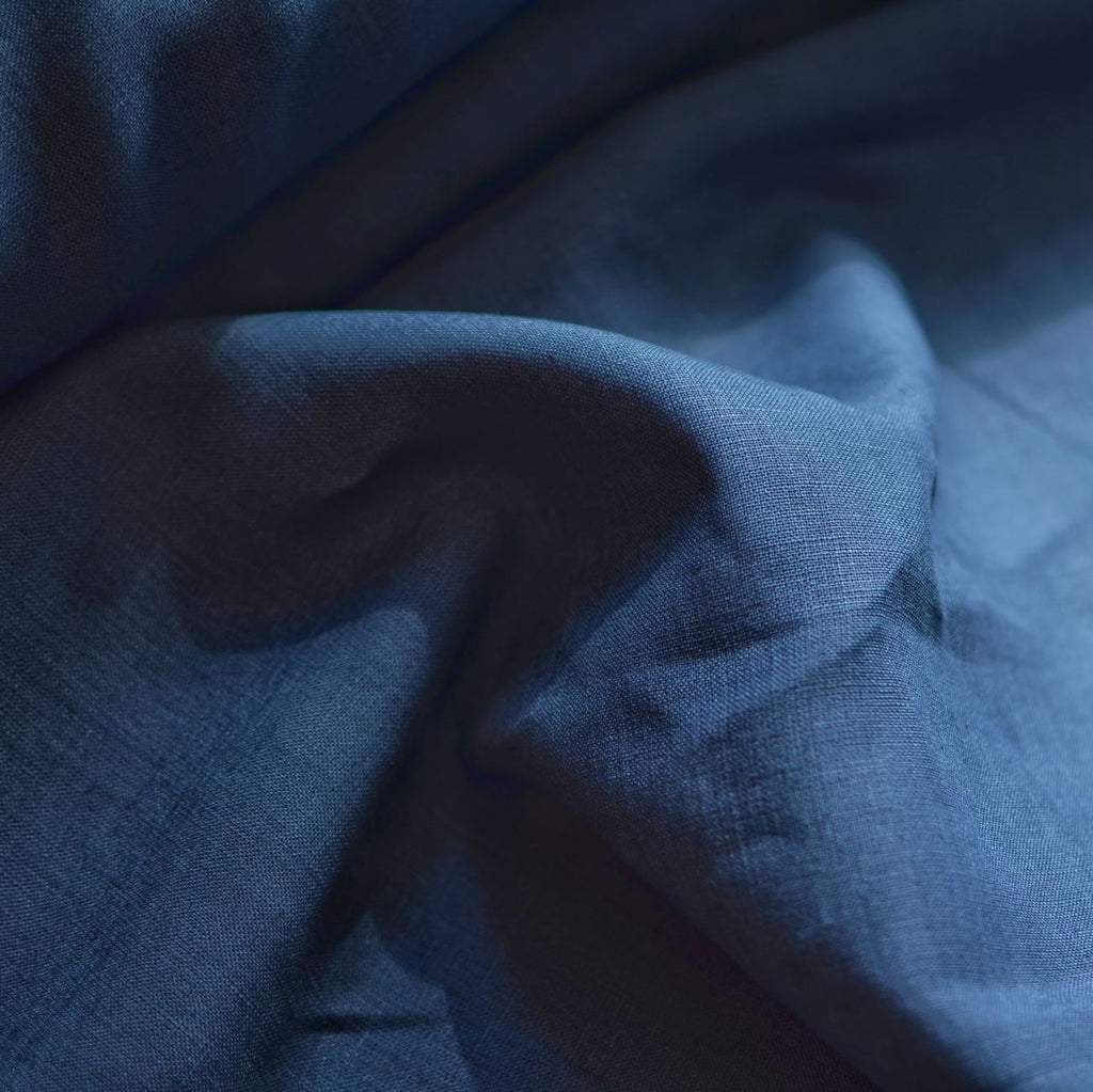 Denim – Kayah Midweight Linen – 1/2 yard