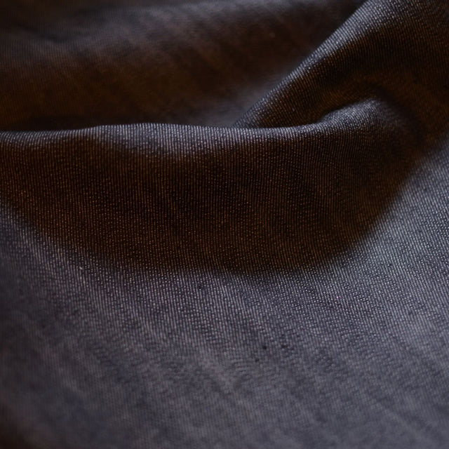 Blackened Indigo – 100% Cotton Denim – 1/2 yard