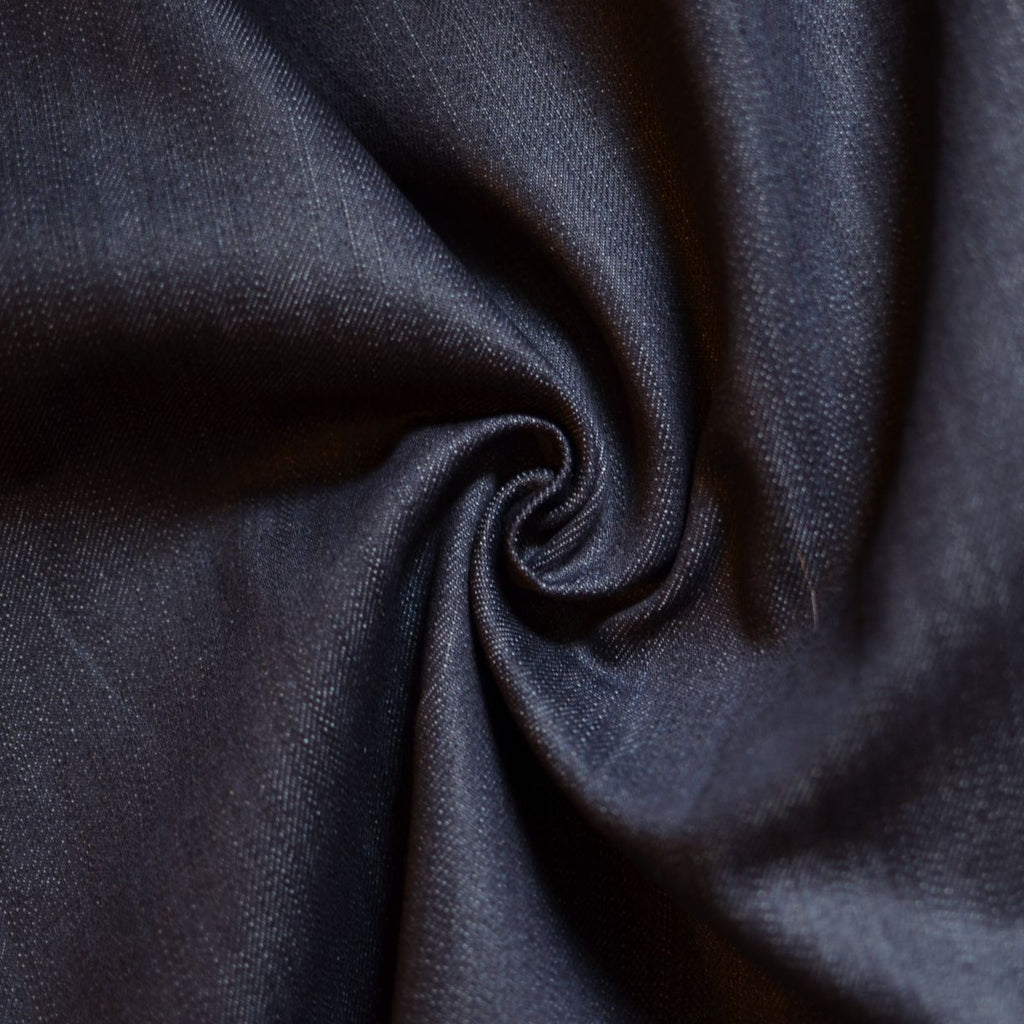 Deep Indigo – Cotton/Lycra Stretch Denim – 1/2 yard