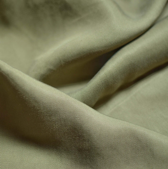 Faded Khaki – Melina Lyocell Twill – 1/2 yard