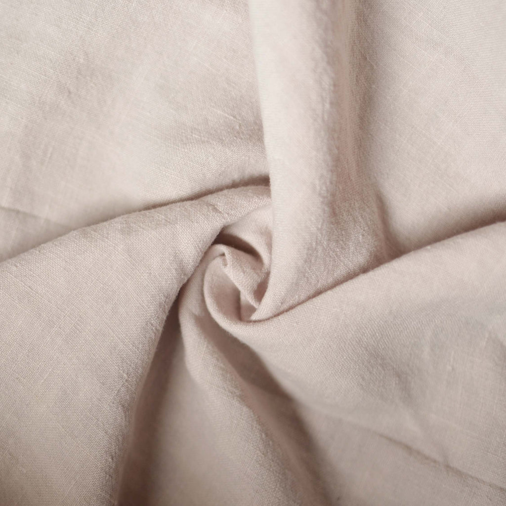 Milk Tea – Alexandria Lightweight Washed Linen – 1/2 yard