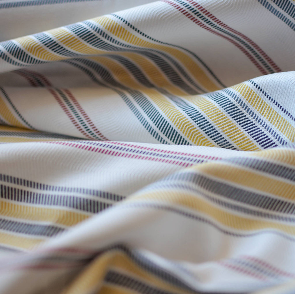 Chevron Striped Rayon  – 1/2 yard