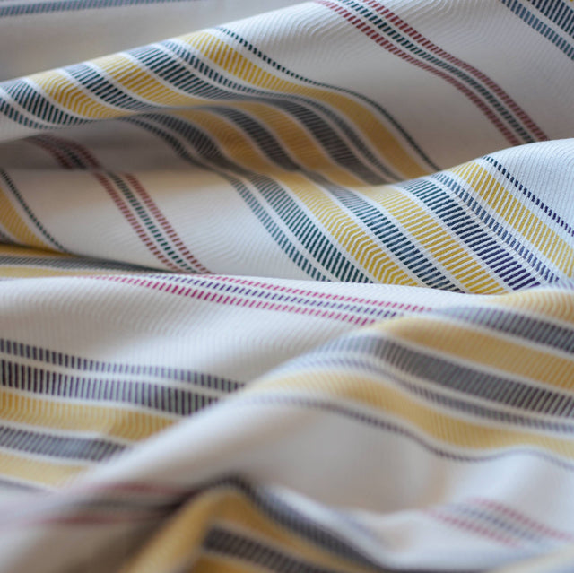 Chevron Striped Rayon Suiting – 1/2 yard