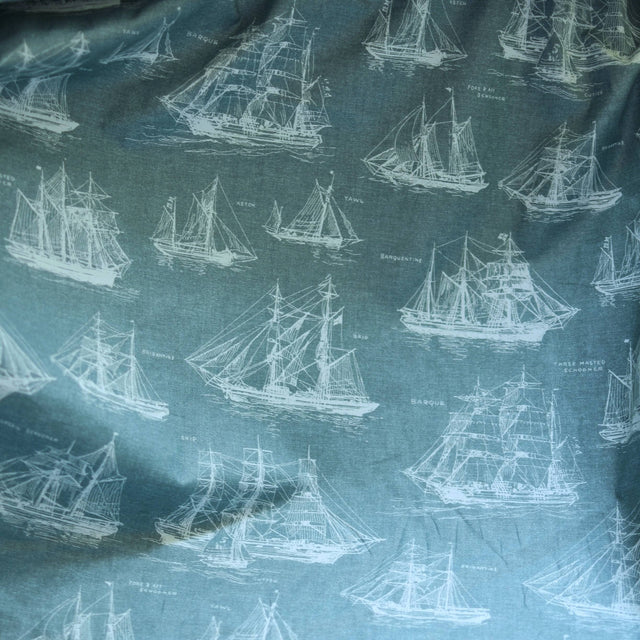 Robert Kaufman Ships Cotton Shirting – 1/2 yard