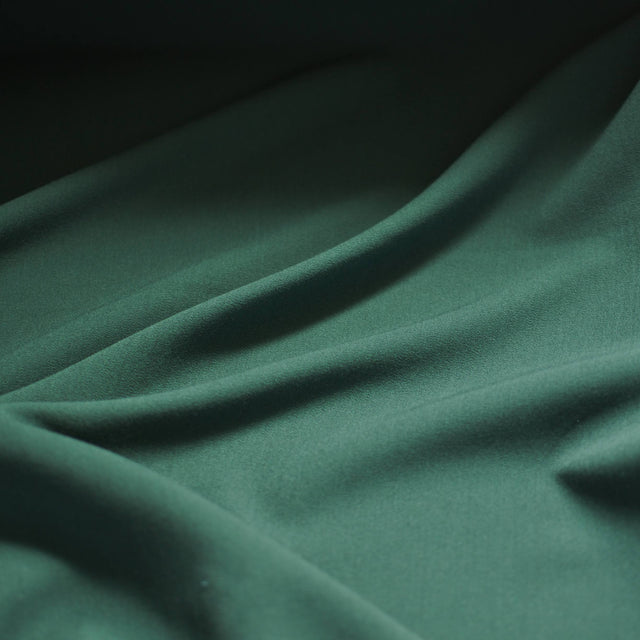 Forest Green Stretch Suiting – 1/2 yard