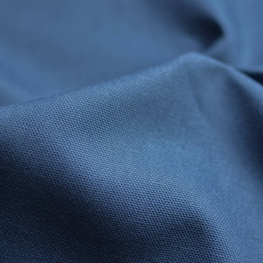Denim Blue – Greta Organic Cotton 10 oz Duck Canvas – 1/2 yard