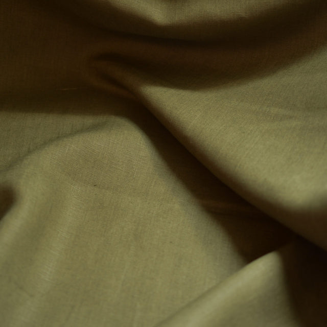 Olive – Kayah Midweight Linen – 1/2 yard