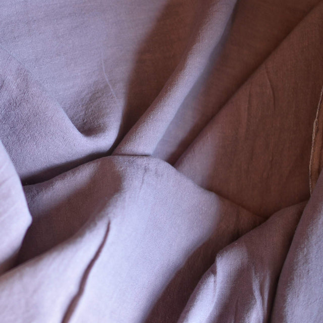 Muted Lavender – Alexandria Lightweight Washed Linen – 1/2 yard