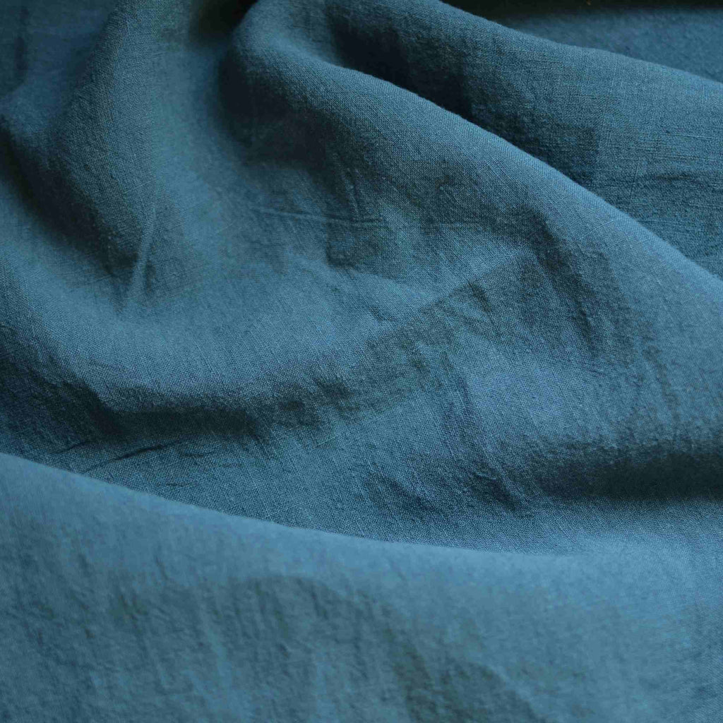 Peacock – Alexandria Lightweight Washed Linen – 1/2 yard