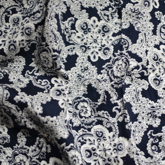Paisley Stretch Cotton Twill – 1/2 yard