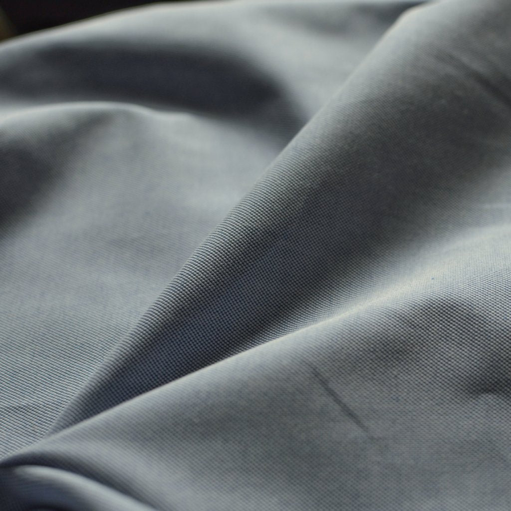 Blue – Chambray Oxford Shirting – 1/2 yard