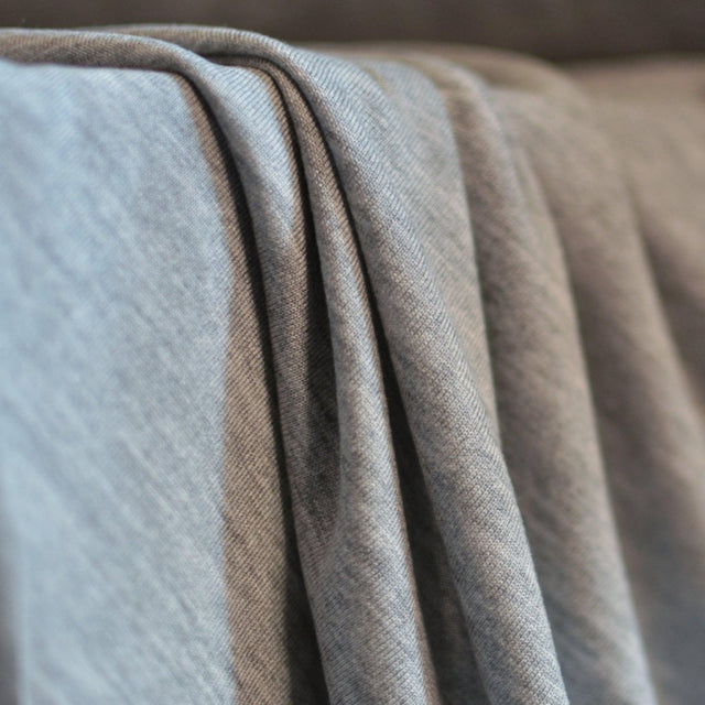 Remnant – Stevie Jersey – Grey Mélange – 1 yard