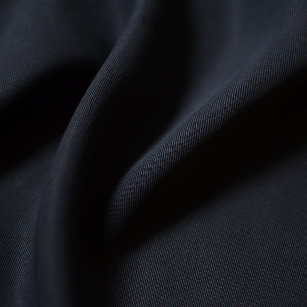 Black – Melina Twill – 1/2 yard