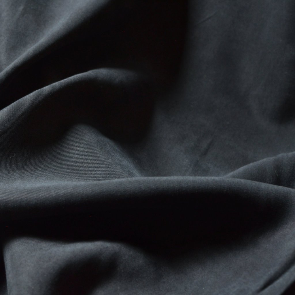 Carbon Black – Safia Lyocell Twill – 1/2 yard