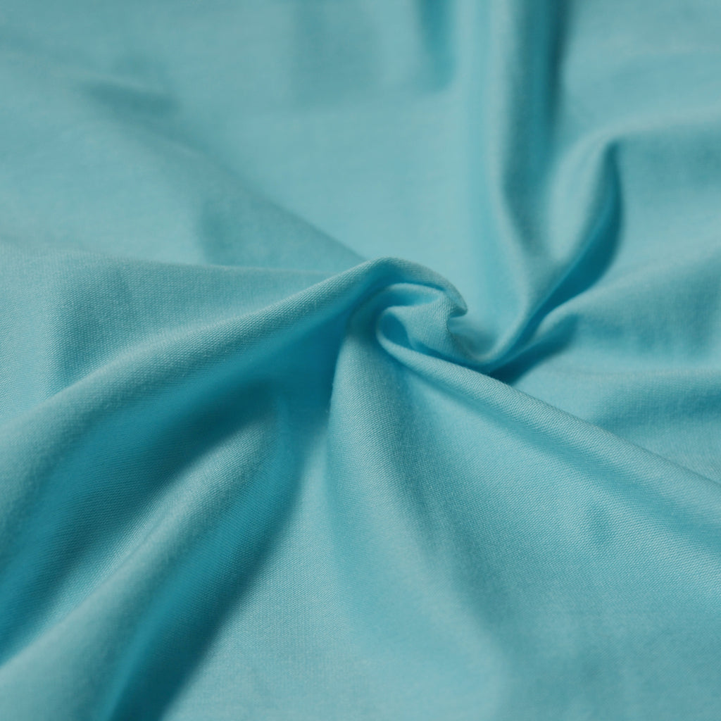 Sky Blue – Cotton Modal Jersey – 1/2 yard