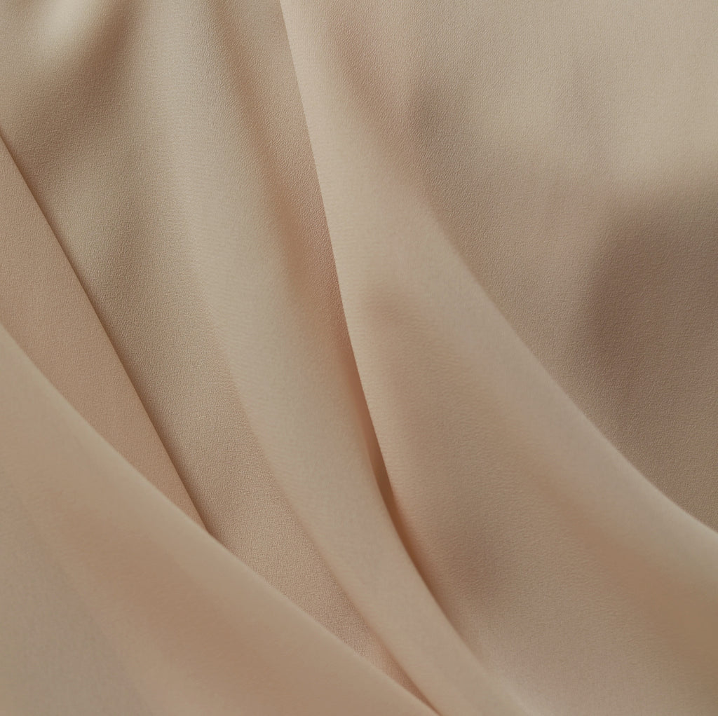 Antique Ivory – Ralph Lauren Crepe Georgette – 1/2 yard