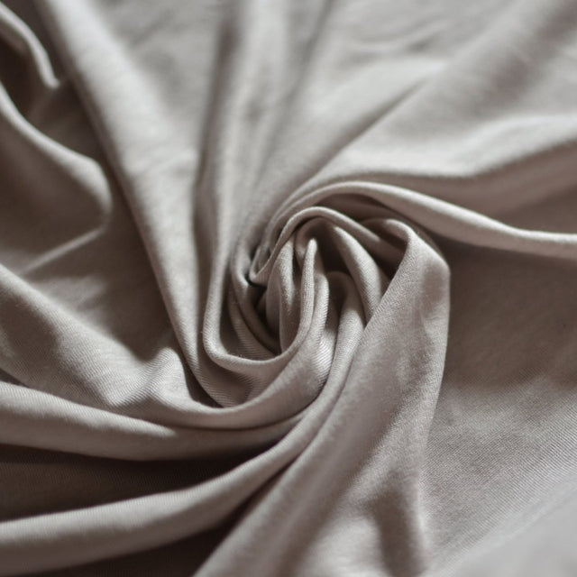 Stevie Jersey – Taupe – 1/2 yard