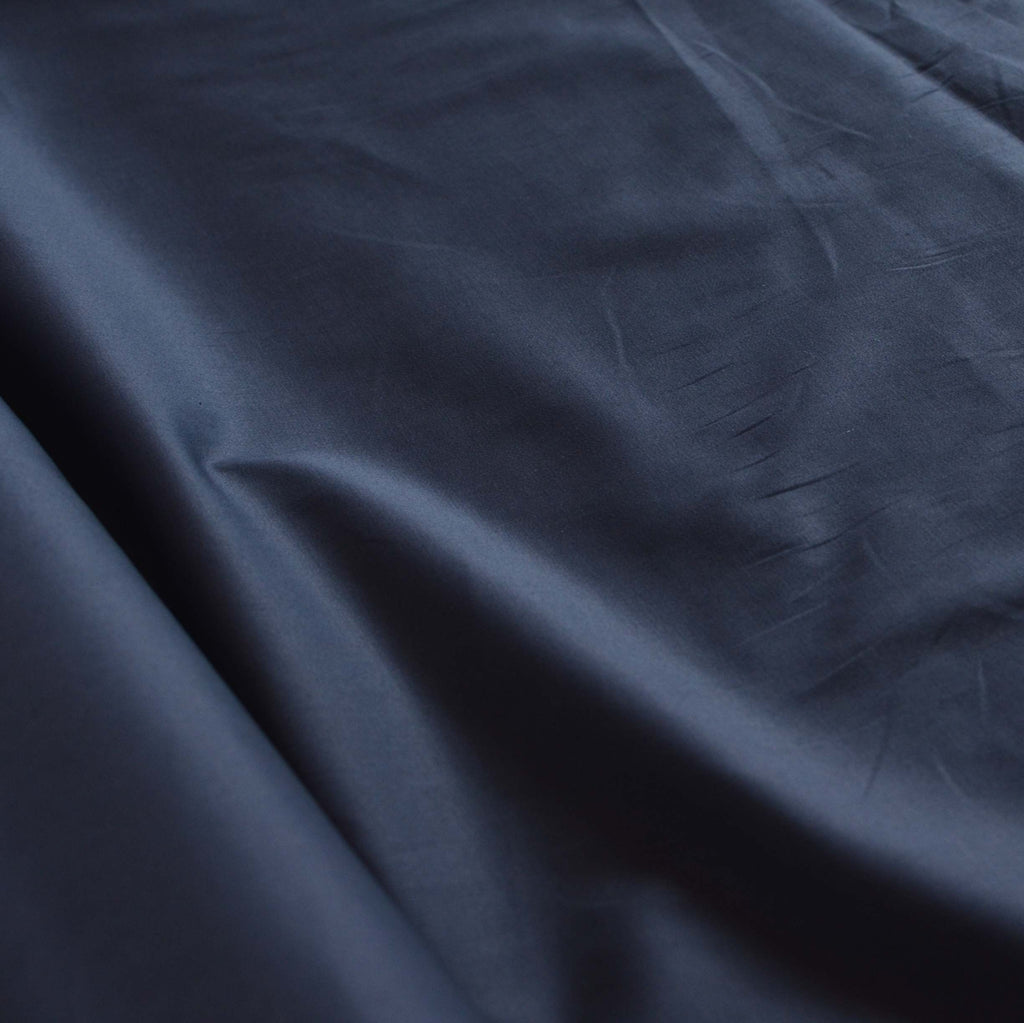 Rich Navy – Stretch Cotton Twill – 1/2 yard