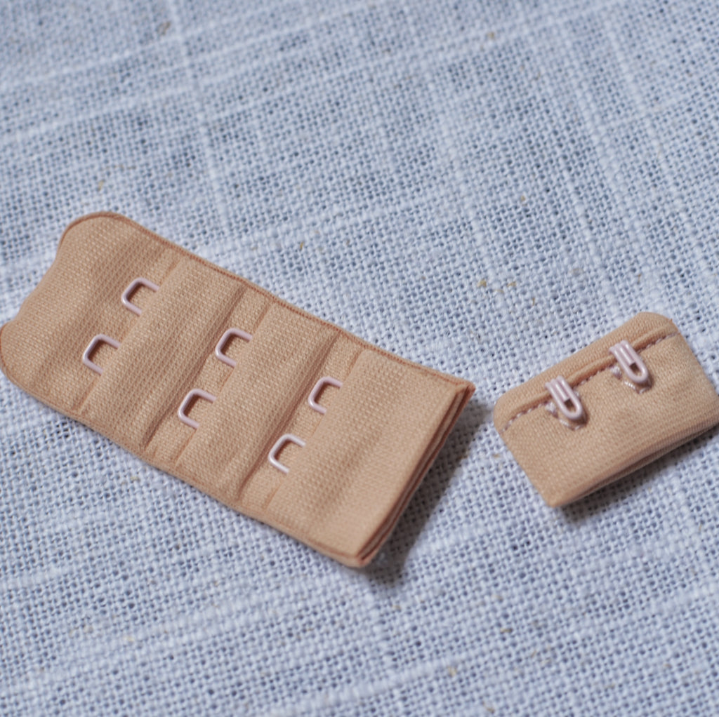 Beige – Bra Hook & Eye – 1