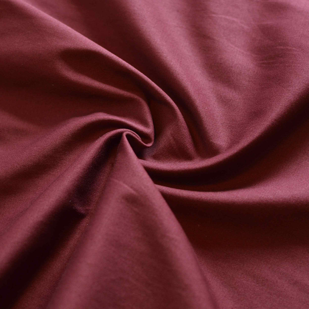 Rich Berry – Stretch Cotton Twill – 1/2 yard